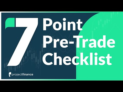 7-Point Pre-Trade Options Trading Checklist