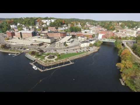 Norwich CT Waterfront: A Drone Tour