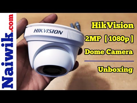 Hikvision  DS-2CE5AD0T-IRPF 2MP (1080P) Night Vision Dome Camera  || Unboxing