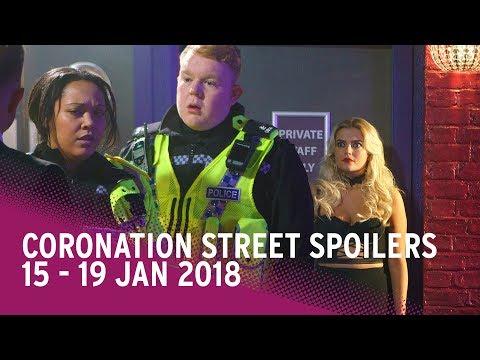 Coronation Street spoilers: 15-19 January 2018 - Corrie