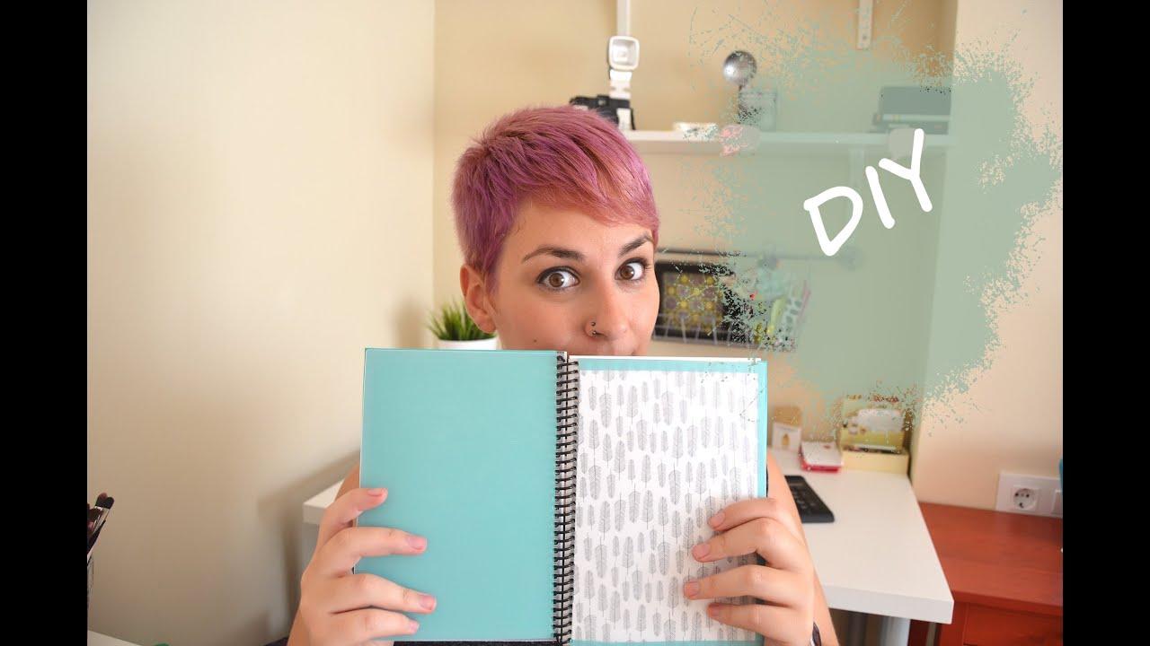 Diy decora tu agenda escolar youtube - Como decorar una agenda ...