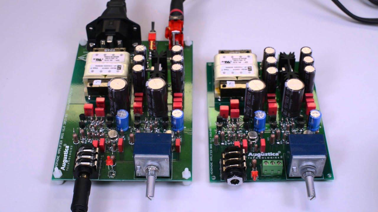 DIY Headphone Amplifier Kit Brig Full Kit Transistor Solid ...