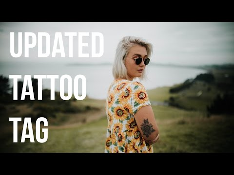 MY TATTOOS TAG {3} | GIVEAWAY | Bonjour Coley