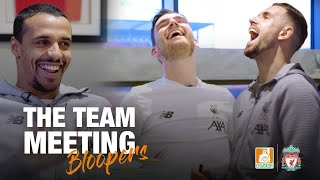 The Team Meeting: Hilarious BLOOPERS reel from spoof 'creative session'