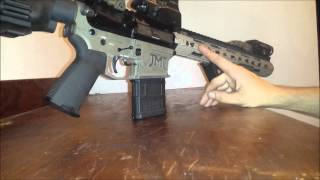 300 aac blackout ar 15 pistol