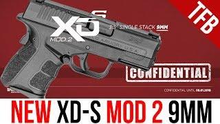 NEW Springfield Armory XD-S 9mm Mod 2 EDC Pistol