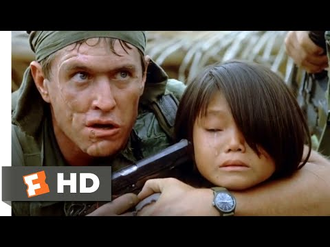 Platoon 1986  Barnes Crosses the Line  310  Movies