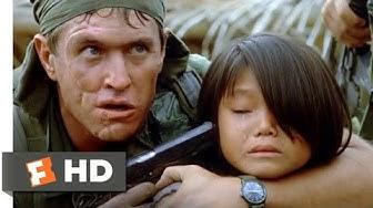 Platoon (1986) - Barnes Crosses the Line Scene (3/10) | Movieclips