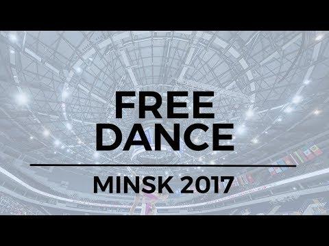 Julia WAGRET / Mathieu COUYRAS FRA - Free Dance MINSK 2017