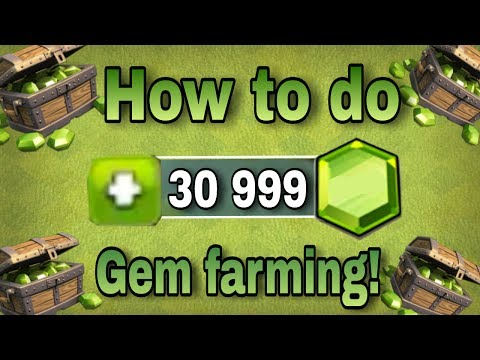 [SECRET] how to do GEM FARMING? | play smartly | CLASH OF CLANS
