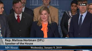 DFL House Leaders Unveil First Bills Of 2019 Session