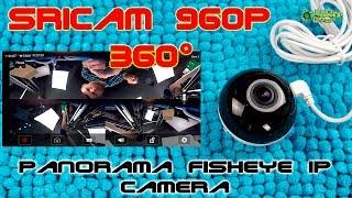 IP камера Sricam 360° Panorama fisheye wifi camera
