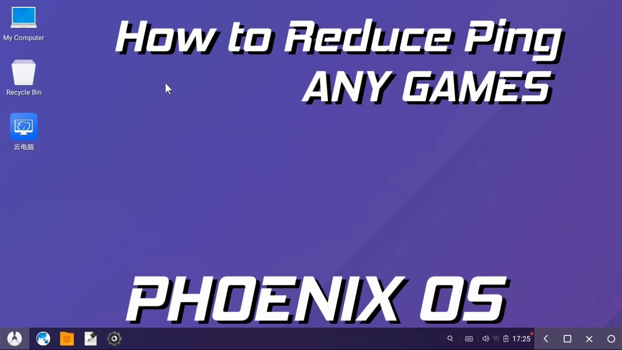 How To Reduce Ping Issue In Phoenix OS All Games / How To Connect Ethernet  With Any Mobiles
