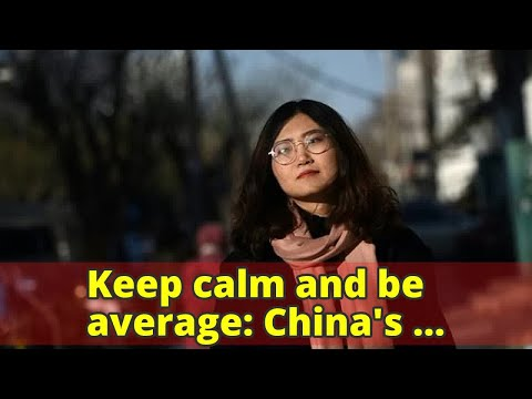 Keep calm and be average: China's unambitious 'Buddhist Youth'