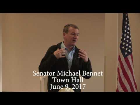 Senator Michael Bennet Town Hall, Frisco, Colorado