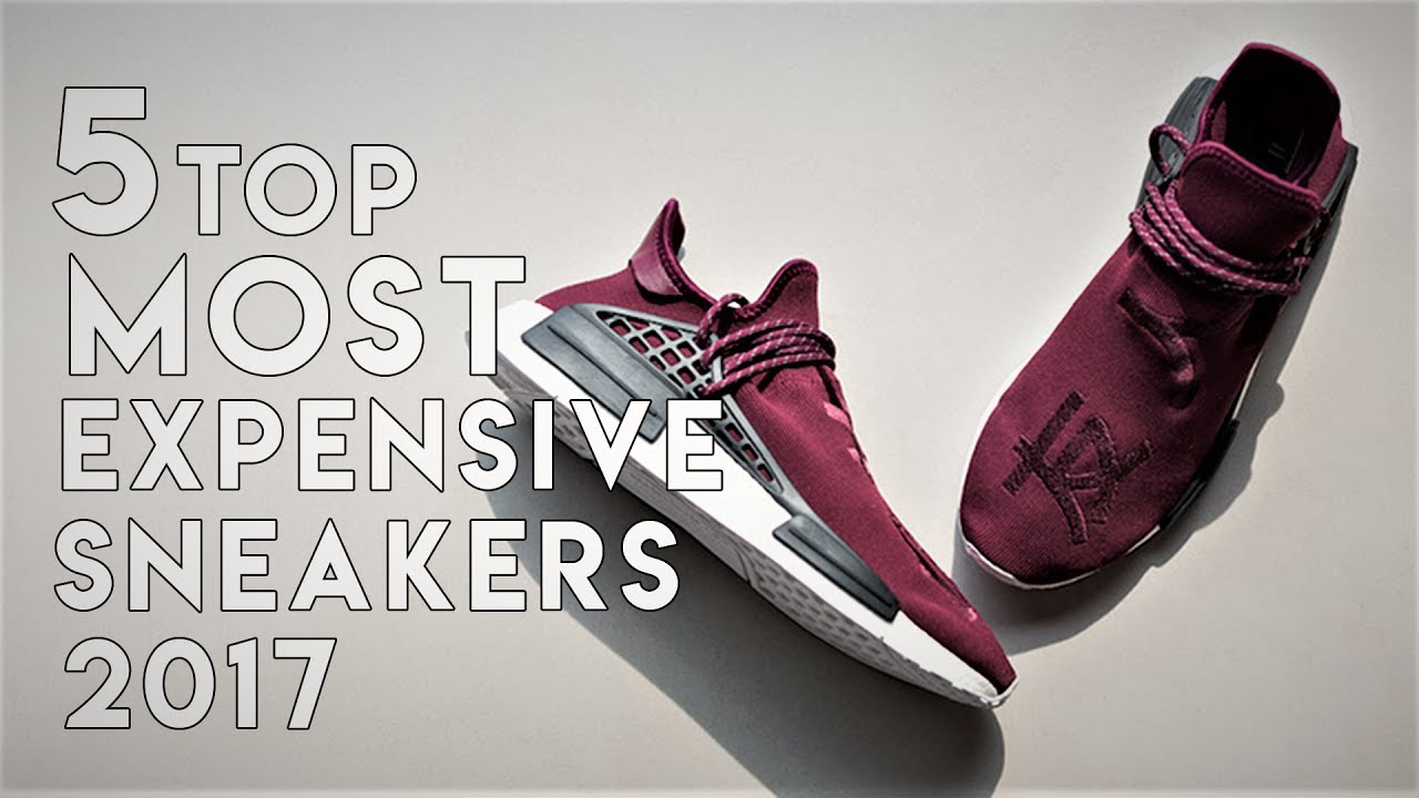 6007eb8fe8c02 Top 5 Most Expensive Sneakers Of World 2017 Edition. - YouTube