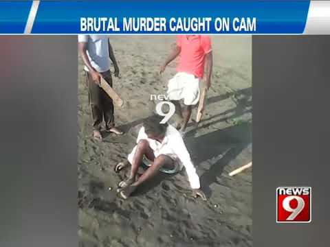 Live Murder in Bagalkote captured in camera