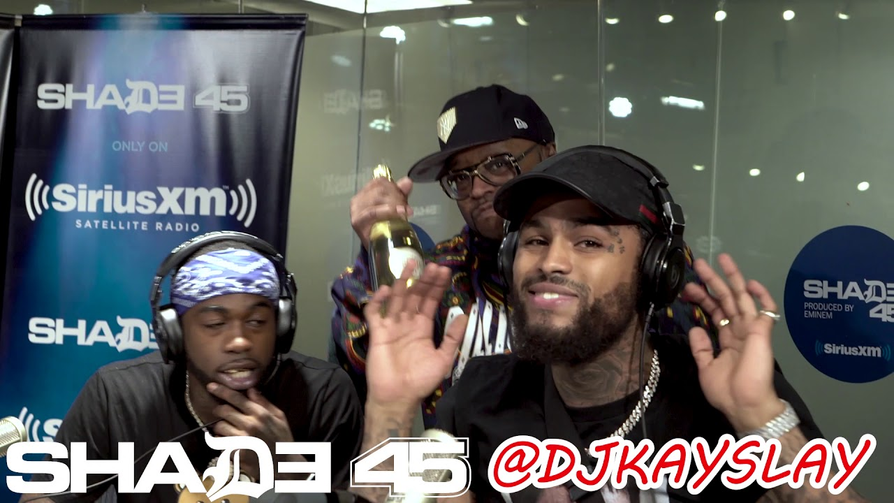 Dave East in studio performance at Dj Kayslay show on Shade45