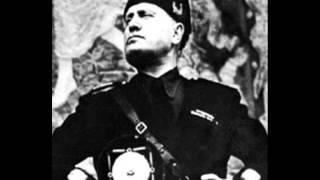 Benito Mussolini - Roma: Discorso del 11 Dicembre 1941 - La dichiarazione di guerra agli U.S.A