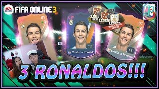 ~Packed 3 Cristiano!!!~ Masters Season Lottery Opening - FIFA ONLINE 3