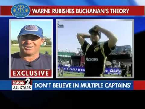 Warne Rubishes Buchanan's Theory