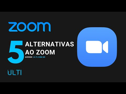 5 Alternativas ao Zoom