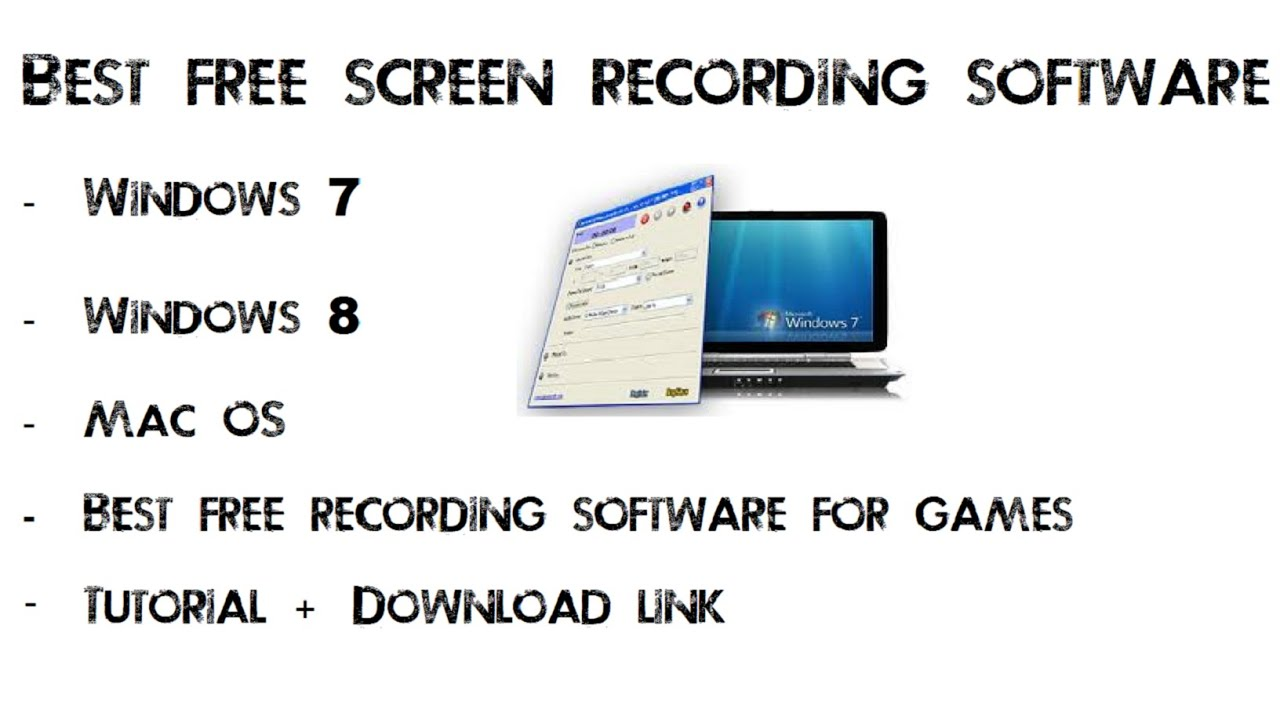 Free hd screen recorder for games [windows xp/7/8/macos best for.