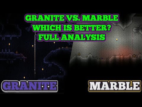Granite Biome Vs Marble Biome Which Is Better Full