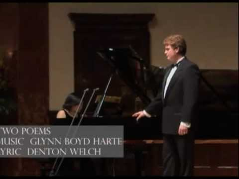Paul Austin Kelly and Yoko Hirao at Wigmore Hall, Pt.1. - Patrick O'Connor Memorial Concert