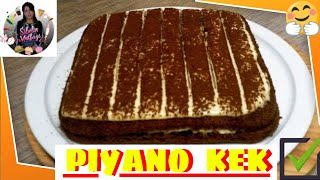 Piyano Kek Tarifi Nasıl yapılır Sibelin mutfağı ile yemek tarifleri