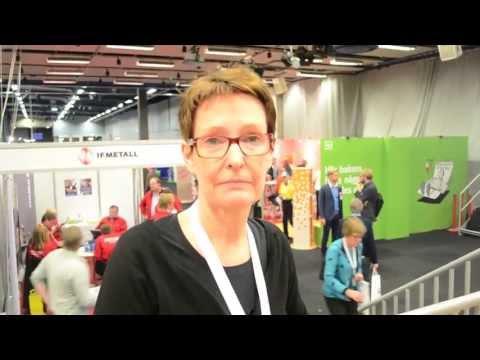Ingrid Andreae, ombudsman på LO-distriktet i Västsverige