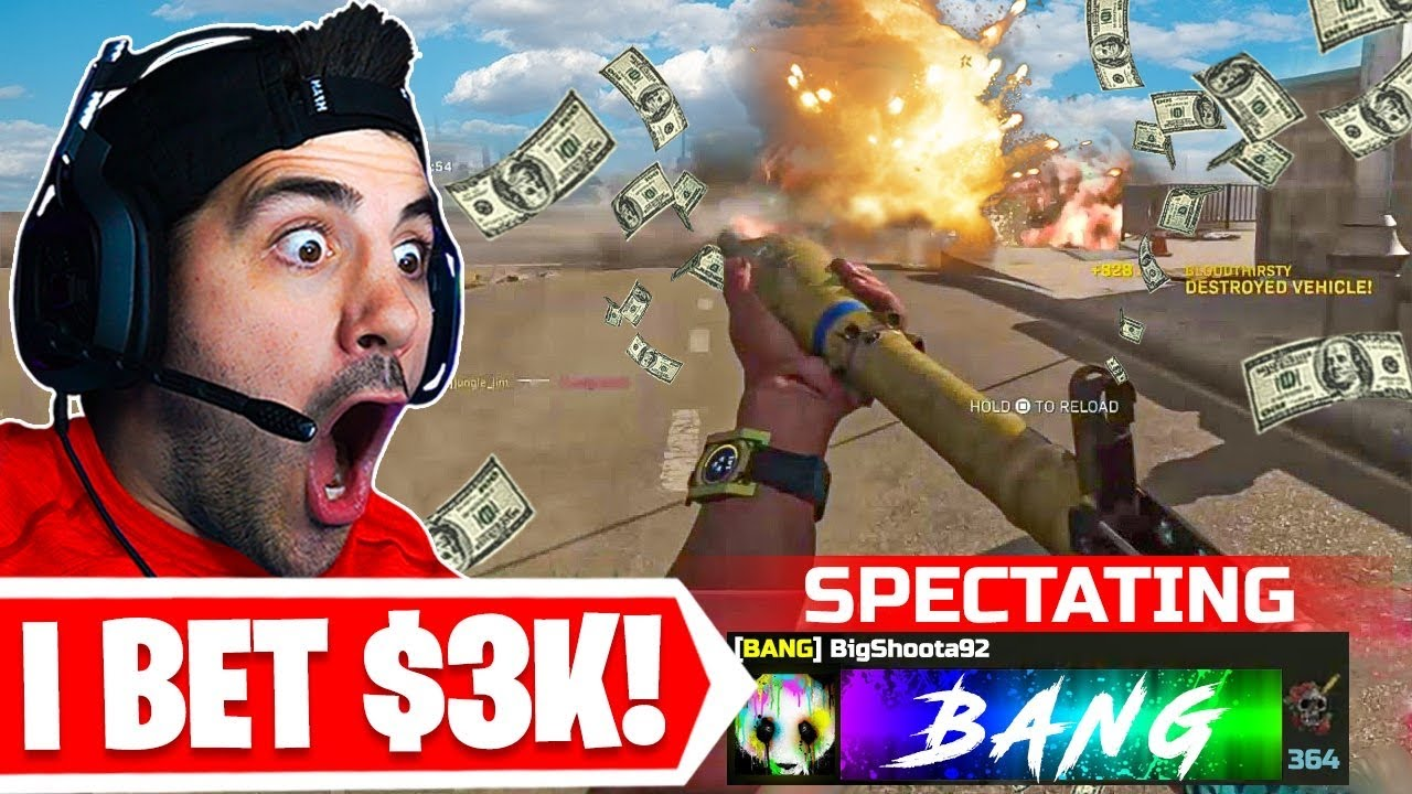 I SPECTATED SOLOS AND BET $3,000 ON ONE PLAYER! 🤯