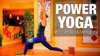 Power Yoga w/ Weights & Cardio Class - Five Parks Yoga