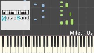 Website: https://www.musicbandguide.com [琴譜版] Milet - Us - 日本...