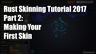 New Rust Skinning Tutorial 2: Creating your first skin