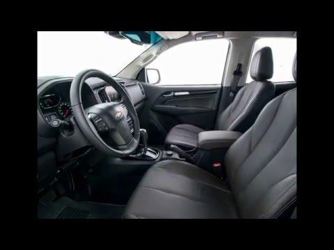 Новый Chevrolet Trailblazer рестайлинг 2016 года