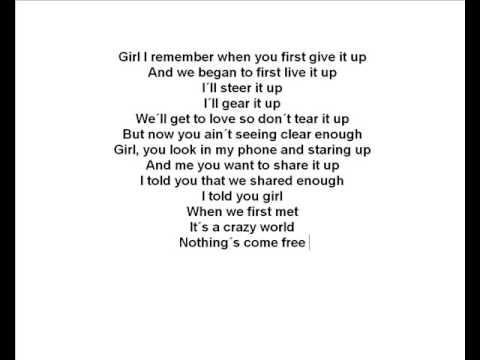Sean Paul - Other Side of love( lyrics )