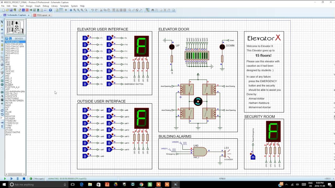 elevator ladder logic diagram [ 1280 x 720 Pixel ]