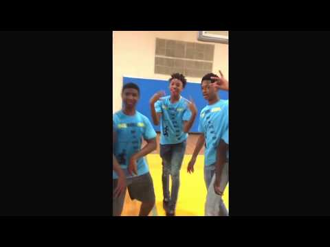Siwell middle school indoor field day start