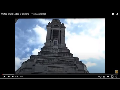 United Grand Lodge of England -  Freemasons Hall