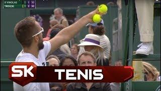 Vimbldon 2016: Troicki Pobesneo na Sudiju |  SPORT KLUB Tenis