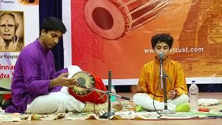 Carnatic Music Concert by Shashank | tutelage of Tiruvarur Vaidyanathan | TTVVTrust 2017