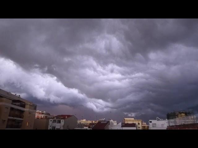 Un cel endimoniat - Badalona - Octubre 2020