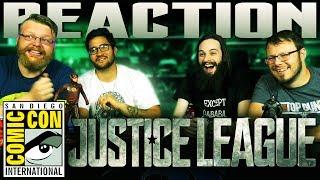Justice League - Comic-Con Sneak Peek REACTION!! SDCC 2017