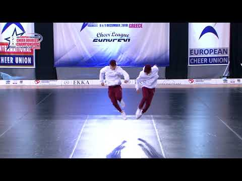 33 SENIOR DOUBLE CHEER HIP HOP Zawadzki   Kooij DCA NETHERLAND