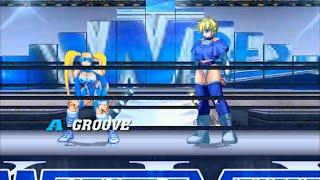 M.U.G.E.N: Rainbow Mika vs. Cathy Wild (D4)