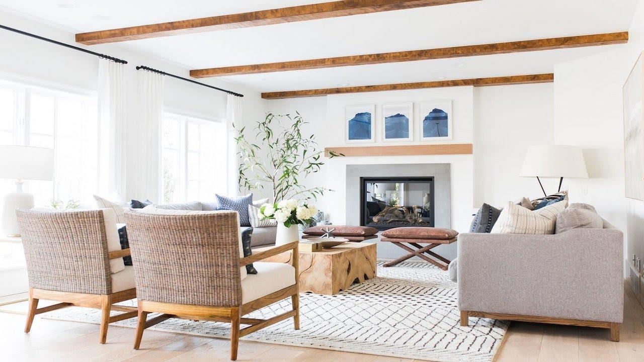 Riverbottoms Remodel: Living Room Before/After