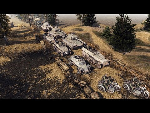 DEFENSE OF BUDAPEST 1944, GERMAN ARMY BUILDS DEFENSE   Men of War: Assault Squad 2 Gameplay