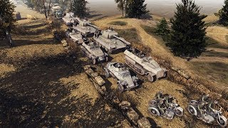 DEFENSE OF BUDAPEST 1944, GERMAN ARMY BUILDS DEFENSE | Men of War: Assault Squad 2 Gameplay