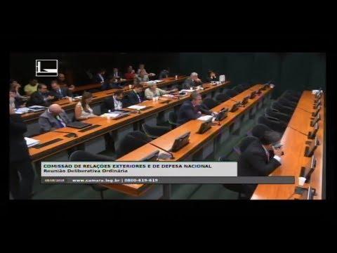 RELAÇÕES EXTERIORES E DE DEFESA NACIONAL - Reunião Deliberativa - 08/08/2018 - 10:56